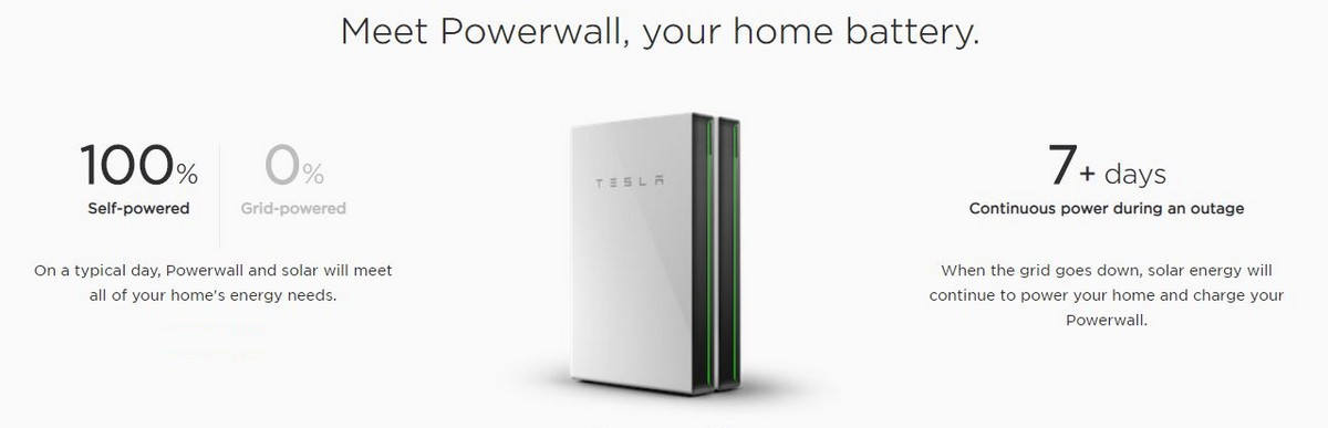 Tesla Powerwall - your home battery